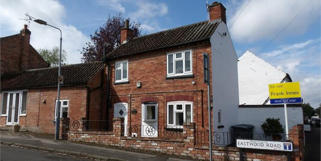 Asking Price £210,000, 2 Bedroom Link Detached House For Sale in Radcliffe-on-Trent, NG12