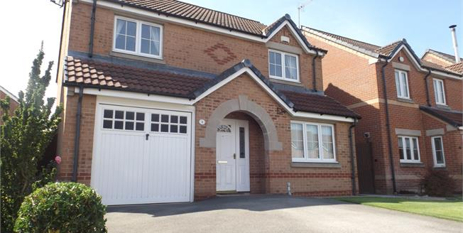 Guide Price £210,000, 4 Bedroom Detached House For Sale in Sutton-in-Ashfield, NG17