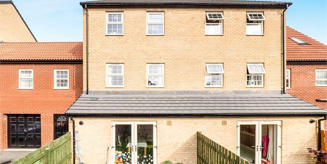 Guide Price £160,000, 4 Bedroom Terraced House For Sale in Sutton-in-Ashfield, NG17