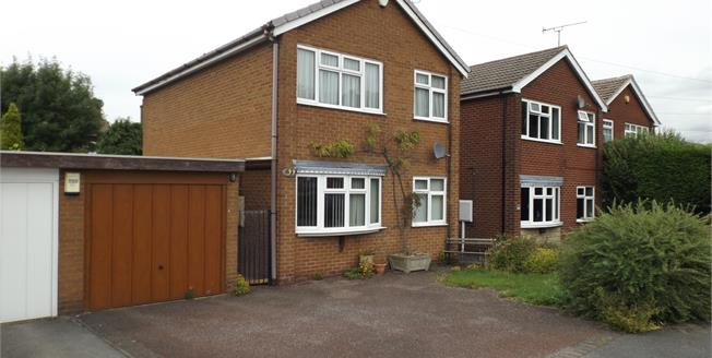 Guide Price £150,000, 3 Bedroom Detached House For Sale in Sutton-in-Ashfield, NG17