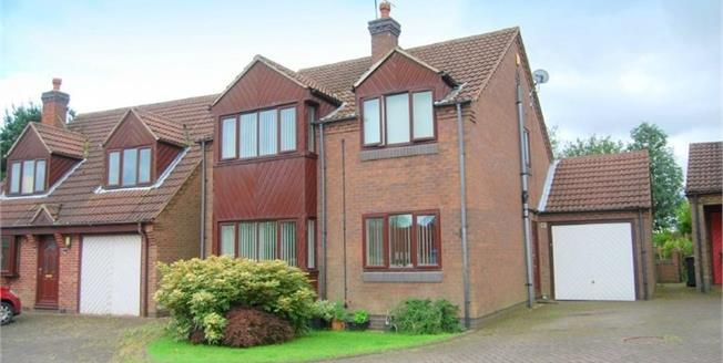 Offers in the region of £220,000, 4 Bedroom Detached House For Sale in Kirkby-in-Ashfield, NG17