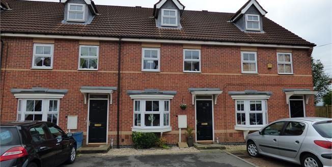 Guide Price £140,000, 3 Bedroom Terraced House For Sale in Sutton-in-Ashfield, NG17