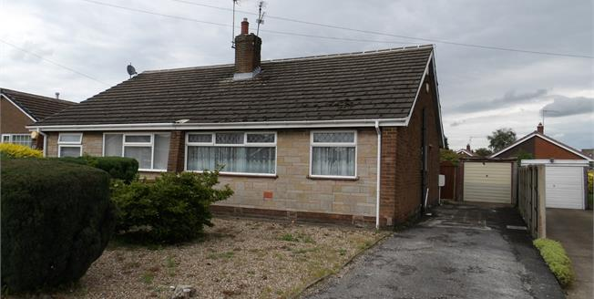 Offers in the region of £134,950, 2 Bedroom Semi Detached Bungalow For Sale in Kirkby-in-Ashfield, NG17