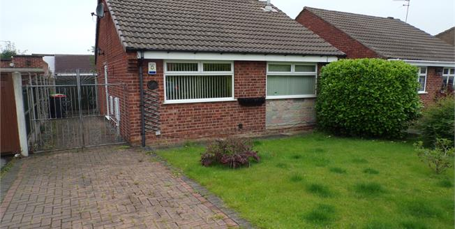 Asking Price £135,000, 2 Bedroom Detached Bungalow For Sale in Westwood, NG16