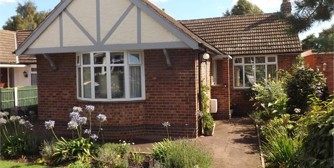 Guide Price £335,000, 2 Bedroom Detached Bungalow For Sale in West Bridgford, NG2