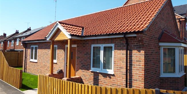 Guide Price £210,000, 2 Bedroom Detached Bungalow For Sale in Nottingham, NG12