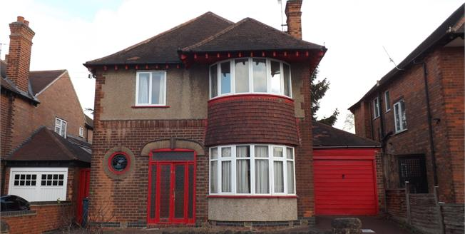 Asking Price £455,000, 4 Bedroom Detached House For Sale in West Bridgford, NG2