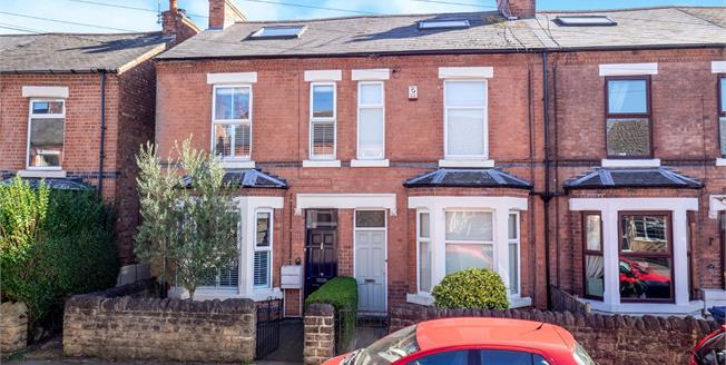 Guide Price £350,000, 4 Bedroom End of Terrace House For Sale in West Bridgford, NG2