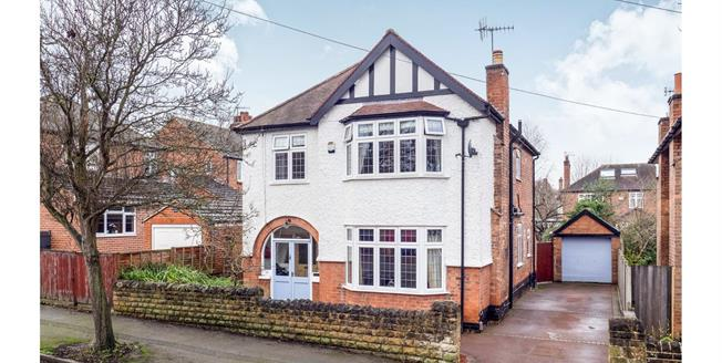 Asking Price £550,000, 4 Bedroom Detached House For Sale in West Bridgford, NG2