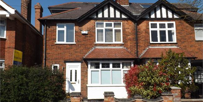 Asking Price £365,000, 4 Bedroom Semi Detached House For Sale in West Bridgford, NG2