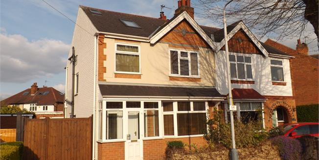 Asking Price £355,000, 4 Bedroom Semi Detached House For Sale in West Bridgford, NG2