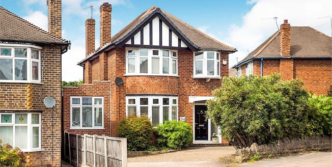 Asking Price £390,000, 4 Bedroom Detached House For Sale in West Bridgford, NG2