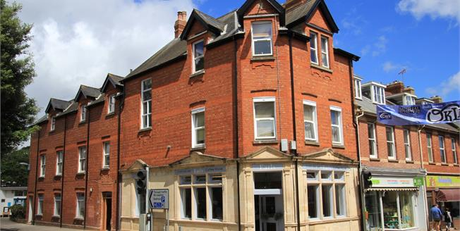 Guide Price £125,000, 2 Bedroom Upper Floor Flat For Sale in Budleigh Salterton, EX9