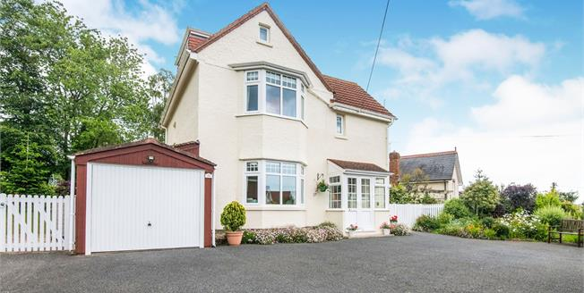 Guide Price £625,000, 3 Bedroom Detached House For Sale in Budleigh Salterton, EX9