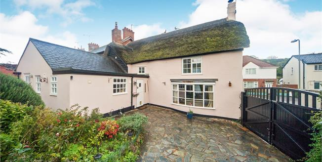 Guide Price £425,000, 3 Bedroom End of Terrace Cottage For Sale in Otterton, EX9