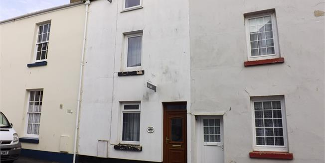 Guide Price £165,000, 3 Bedroom Terraced House For Sale in Dawlish, EX7