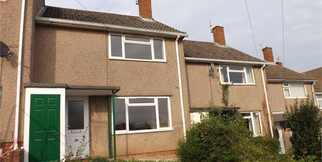 Offers Over £160,000, 2 Bedroom Terraced House For Sale in Exeter, EX4