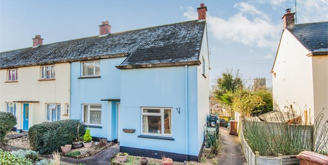 Offers Over £160,000, 3 Bedroom End of Terrace House For Sale in Lapford, EX17