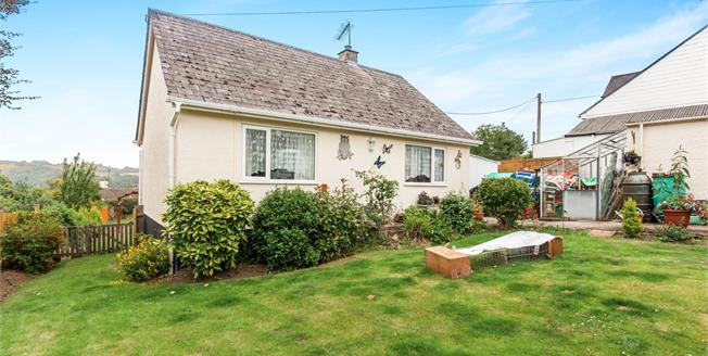 Offers in excess of £270,000, 2 Bedroom Detached Bungalow For Sale in Christow, EX6
