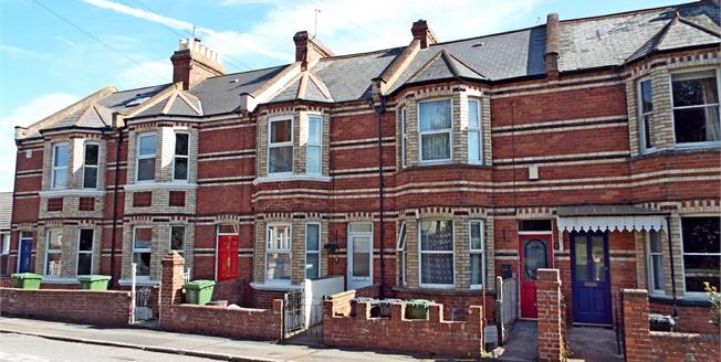 Asking Price £325,000, 3 Bedroom Terraced House For Sale in Exeter, EX1