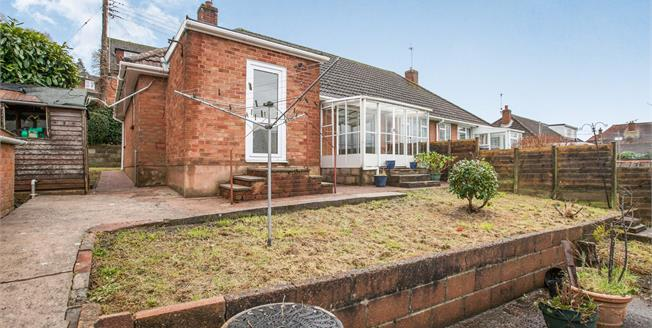 Asking Price £195,000, 2 Bedroom Semi Detached Bungalow For Sale in Exmouth, EX8