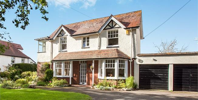 £515,000, 4 Bedroom Detached House For Sale in Exmouth, EX8