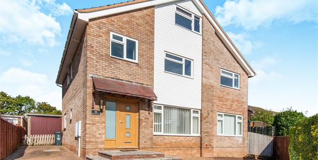 Asking Price £459,950, 6 Bedroom Detached House For Sale in Exmouth, EX8