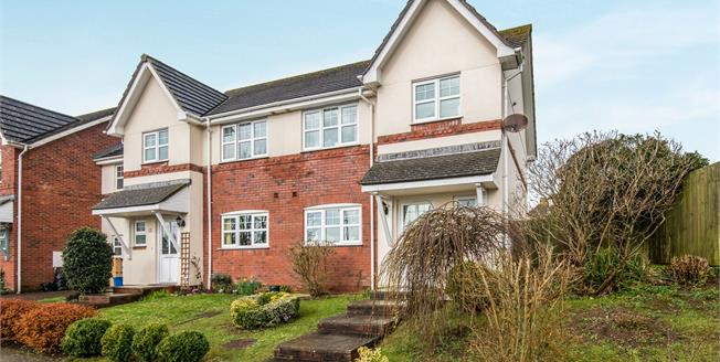 Asking Price £279,000, 3 Bedroom Semi Detached House For Sale in Exmouth, EX8