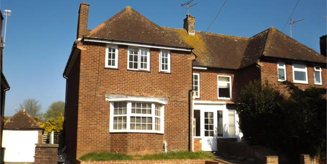 Asking Price £325,000, 3 Bedroom Semi Detached House For Sale in Exmouth, EX8