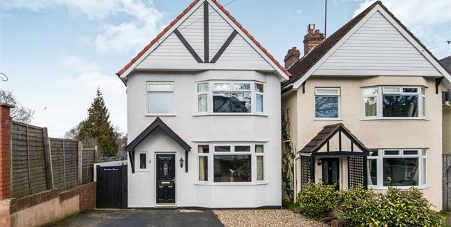 Asking Price £339,500, 3 Bedroom Detached House For Sale in Exmouth, EX8