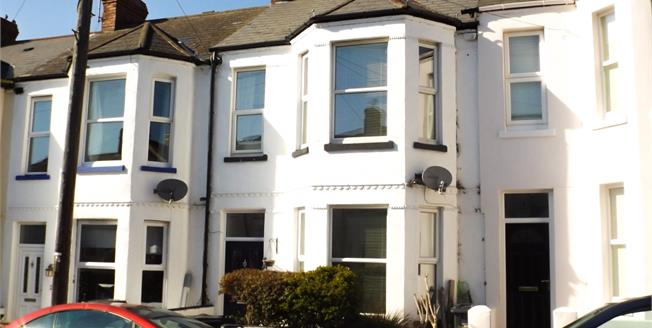Asking Price £285,000, 4 Bedroom Terraced House For Sale in Exmouth, EX8