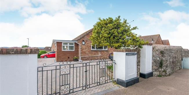 Asking Price £385,000, 2 Bedroom Detached Bungalow For Sale in Exmouth, EX8