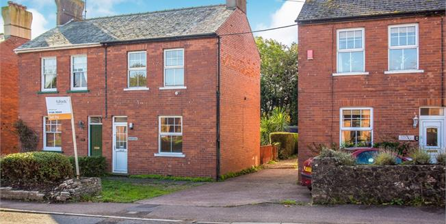 Asking Price £210,000, 2 Bedroom Semi Detached House For Sale in Exmouth, EX8