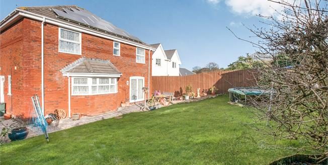 Asking Price £485,000, 5 Bedroom Detached House For Sale in Honiton, EX14