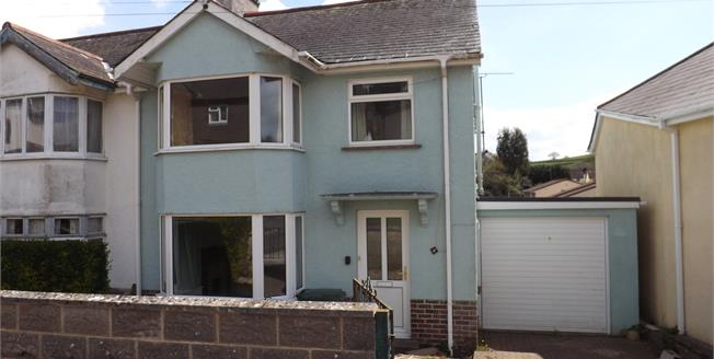 Guide Price £210,000, 3 Bedroom Semi Detached House For Sale in Ogwell, TQ12