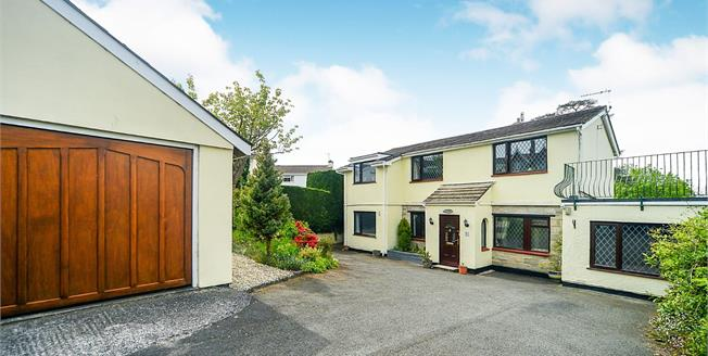 Offers in excess of £450,000, 4 Bedroom Detached House For Sale in Courtenay Gardens, TQ12