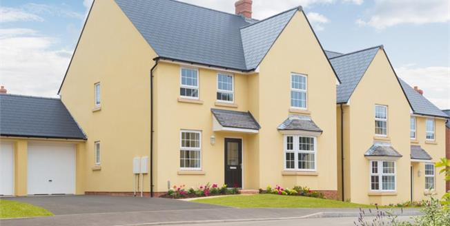 £405,000, 4 Bedroom Detached House For Sale in Exeter, EX1