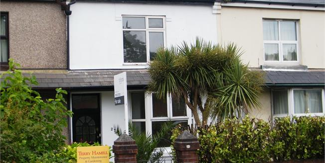 Offers in excess of £145,000, 2 Bedroom Terraced House For Sale in Paignton, TQ4