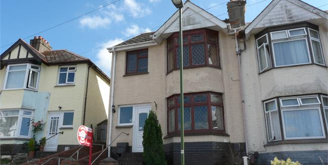 Asking Price £165,000, 3 Bedroom End of Terrace House For Sale in Paignton, TQ3
