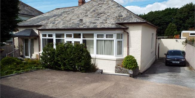 Guide Price £365,000, 4 Bedroom Detached Bungalow For Sale in Plymouth, PL9