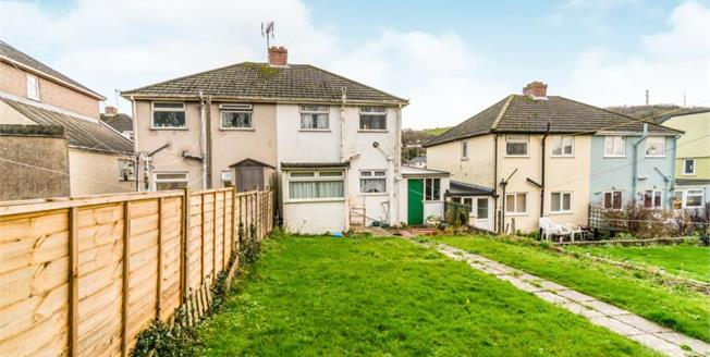 Asking Price £175,000, 3 Bedroom Semi Detached House For Sale in Plymouth, PL9
