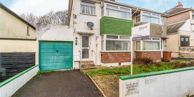 Guide Price £160,000, 3 Bedroom Semi Detached House For Sale in Plymouth, PL9