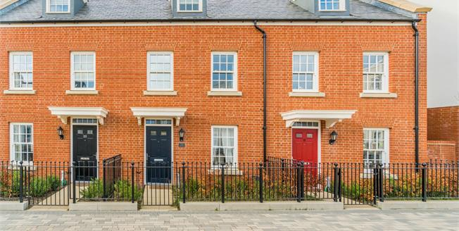 Guide Price £270,000, 3 Bedroom End of Terrace House For Sale in Sherford, PL9