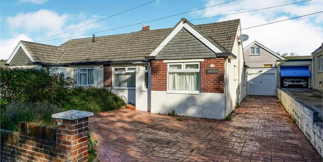 Asking Price £225,000, 2 Bedroom Semi Detached Bungalow For Sale in Plymouth, PL9