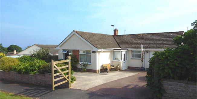 Asking Price £350,000, 3 Bedroom Detached Bungalow For Sale in Seaton, EX12