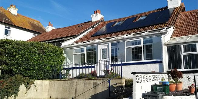 Asking Price £270,000, 3 Bedroom Terraced Bungalow For Sale in Seaton, EX12