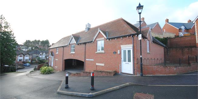 Offers Over £220,000, 2 Bedroom House For Sale in Sidmouth, EX10