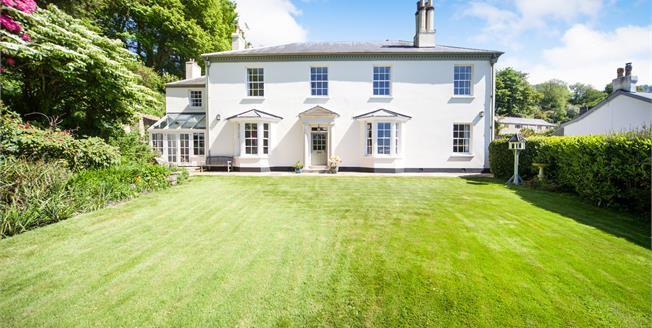 Asking Price £1,565,000, 6 Bedroom Detached House For Sale in Salcombe Regis, EX10