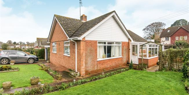 Asking Price £335,000, 2 Bedroom Detached Bungalow For Sale in Newton Poppleford, EX10