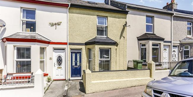 Offers Over £140,000, 2 Bedroom Terraced House For Sale in Plymouth, PL5